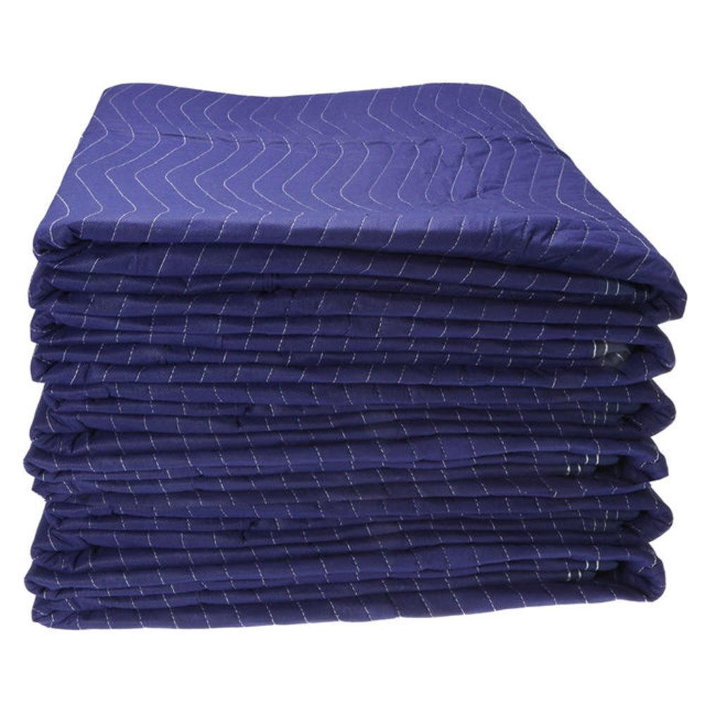 6 Economy Moving Blanket 72x80 43# Professional Quilted