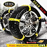 Best mud tire for the money - Anti Slip Tire Chains Adjustable Tyre Emergency Safety Review