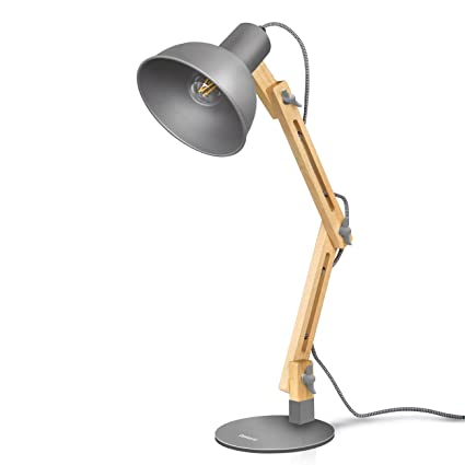 Amazon tomons nature wood desk lamp scandinavian designer tomons nature wood desk lamp scandinavian designer table lamp reading lights for study work aloadofball Image collections