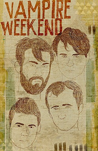 Vampire Weekend - Pop Art Poster / Wall / Limited Edition of 100 /