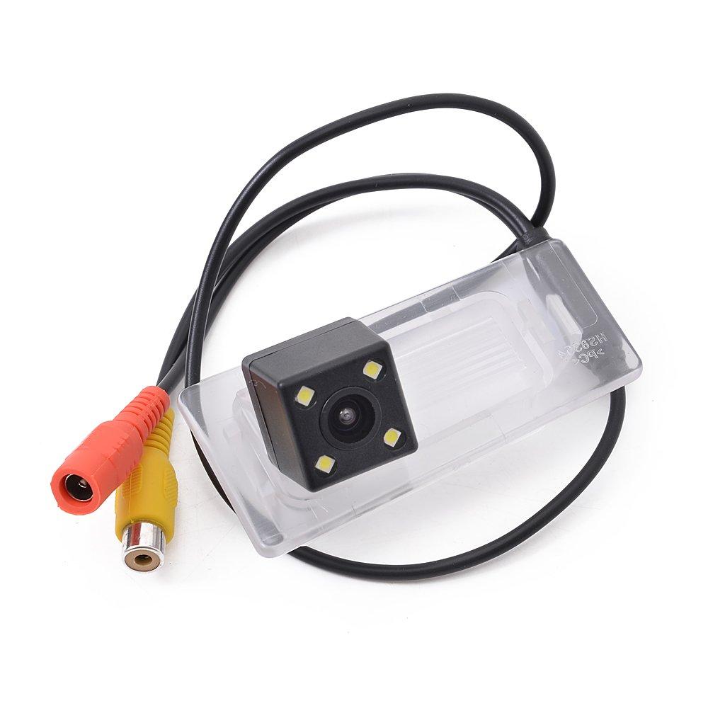 ヒュンダイエラントラ2016 – 2017年の自動バックアップカメラ、バックミラー駐車場モニタアシスタントCCD防水LEDナイトビジョンwith Wireグループ B078XR2PRZ
