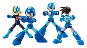 Bandai Shokugan 66 Action Dash Mega Man Action Figure Set