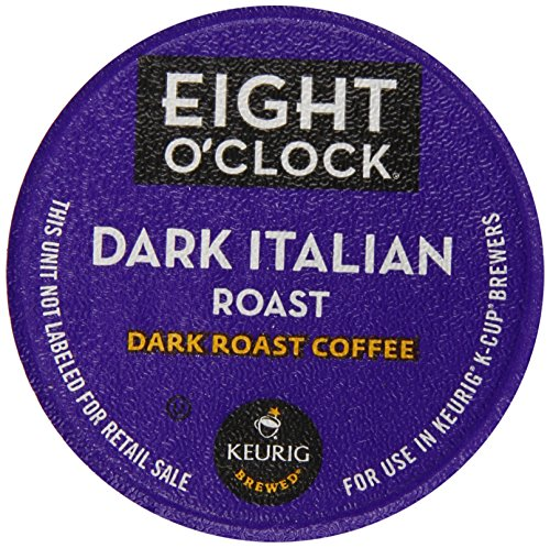 Eight O'Clock Dark Italian Roast K-Cups (72 count) (Bulk K Cup Coffee)