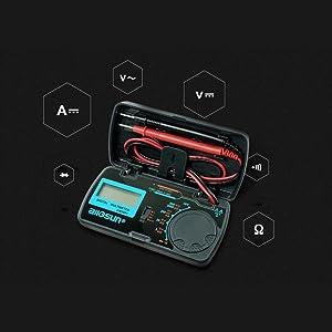 EM3081 Digital Multimeter Measuring DC and AC Voltage Ammeter Voltmeter Ohm Portable Meter Voltage Meter