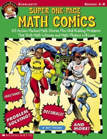 Funnybone Books: Super One-page Math Comics pdf epub