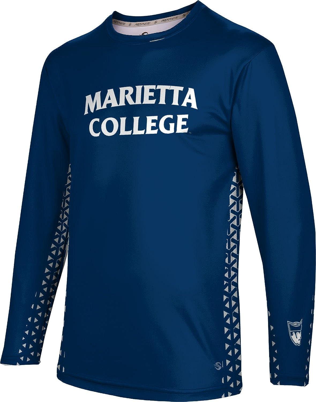 ProSphere Marietta College Mens Long Sleeve Tee Geo