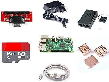 venel electrónico, Modelo B de Raspberry Pi 3 Kit de extensión de tipo 16 GB tiene