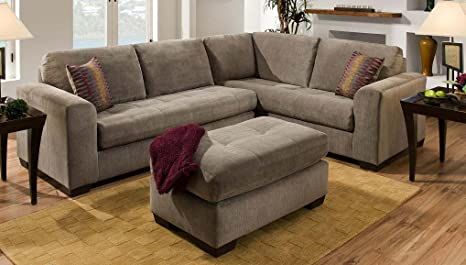 Outstanding Amazon Com Corner Sofa Sectional With Ottoman Kitchen Dining Spiritservingveterans Wood Chair Design Ideas Spiritservingveteransorg