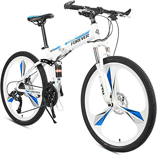 YCHSG Bicicleta Plegable Plegable Permanente Bicicleta de montaña ...