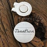 Personalized Name Golf Ball Marker Gift for Boyfriend Valentines Day Gift For Men Golfers Gift Anniversary Birthday Gift Husband Boyfriend