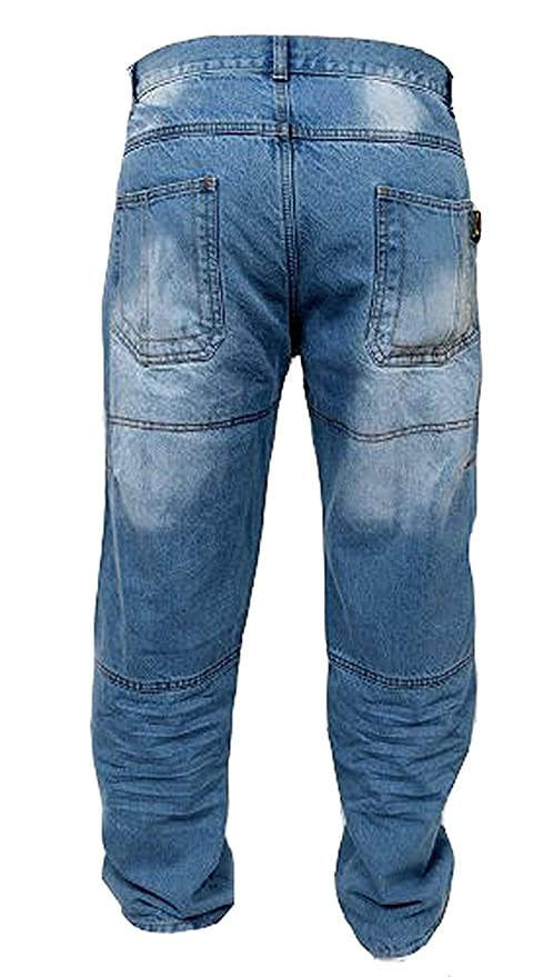 newfacelook Schwarze Motorradhose R/üstungen Motorrad Hose Jeans Kommt mit Aramid verst/ärkt Schutzauskleidung