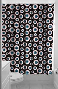 Sourpuss Optical Delusion Shower Curtain by Sourpuss