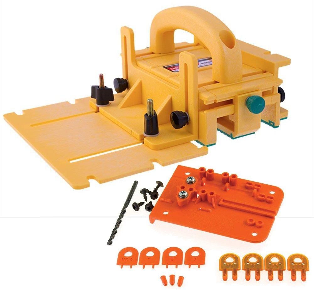 Microjig Grr-Ripper Advanced 3D Pushblock w/ Splitter Steelpro (Thin Kerf) by MICROJIG (Image #1)