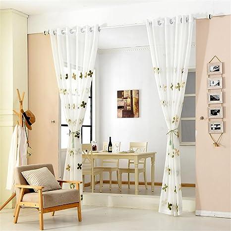 BKFF® Tende moderne in tulle per soggiorno tende da cucina in camera ...