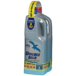 Elsan Double Toilet Fluid - Blue, 2 Litres-free double rinse (2 litre)