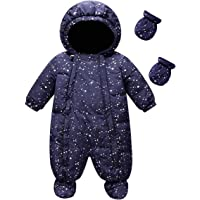 famuka Baby Schneeanzug Jungen Strampler Mädchen Overall Winter Babykleidung