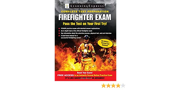 Firefighter Exam Llc Learningexpress 9781576859230 Amazon Books