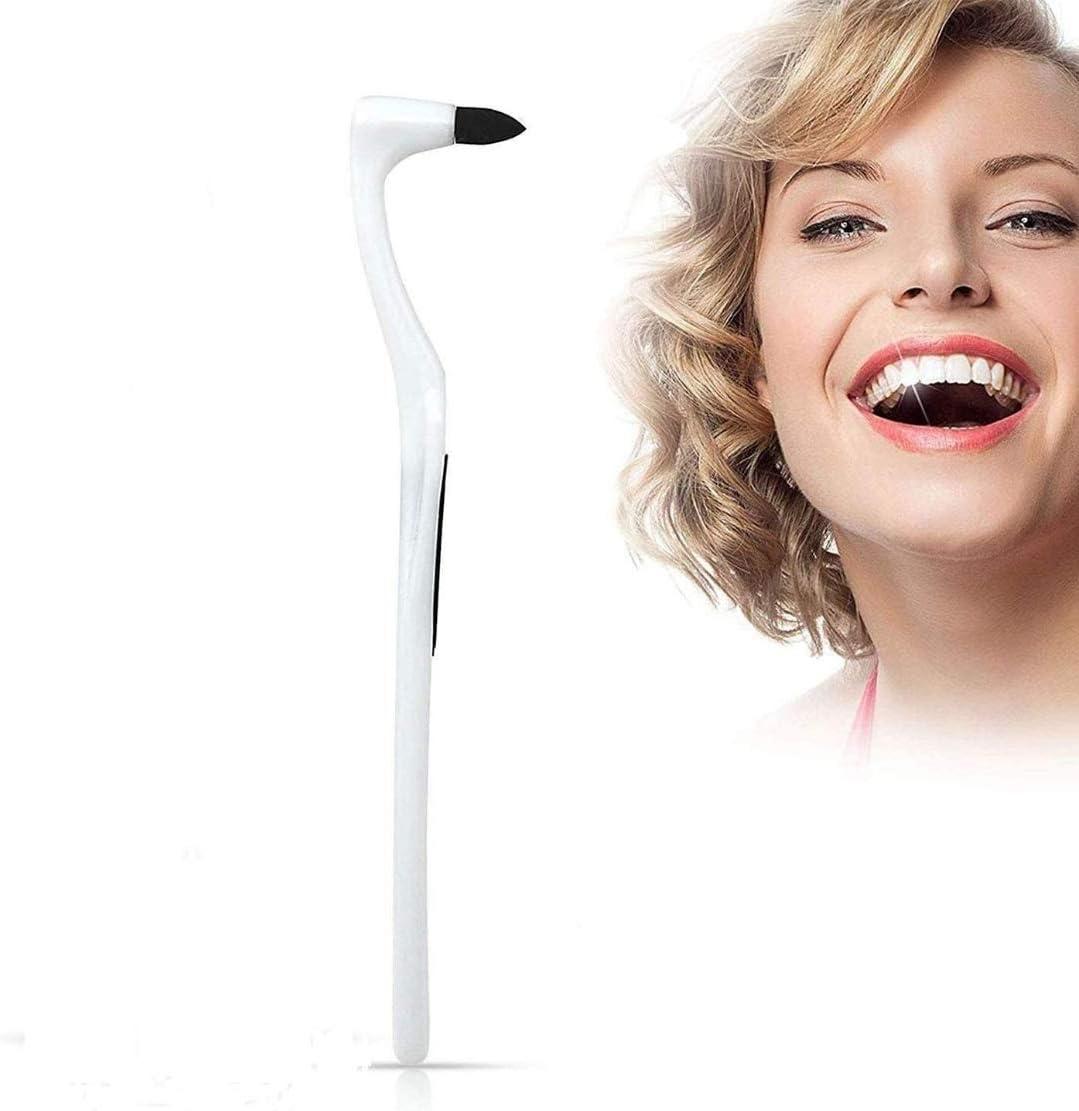 HAL Blanqueador Dental, Removedor de Sarro de Dientes Profesional, Kit de Limpieza de Pulido de Dientes Borrador de Limpieza Herramienta de Cuidado de Higiene Bucal para Blanquear Los Dientes-Blanco