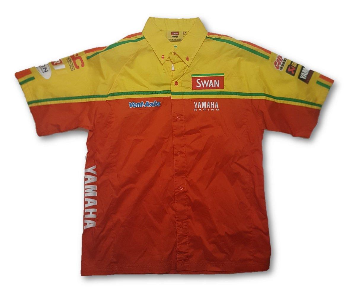 Superbike Swan Yamaha Racing Shirt Amarillo amarillo Talla:small ...