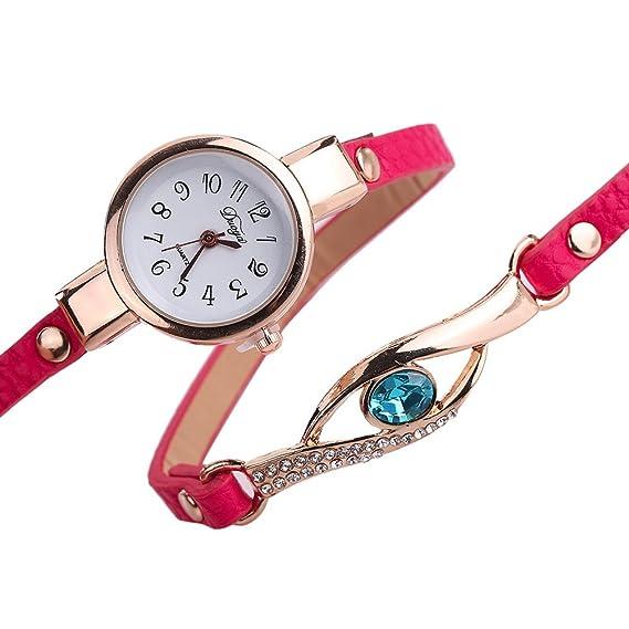 Amazon.com: Ladies Watch Bracelet,Fashion Circle Wrap Around Wristwatch Diamond Student Clock: Cell Phones & Accessories