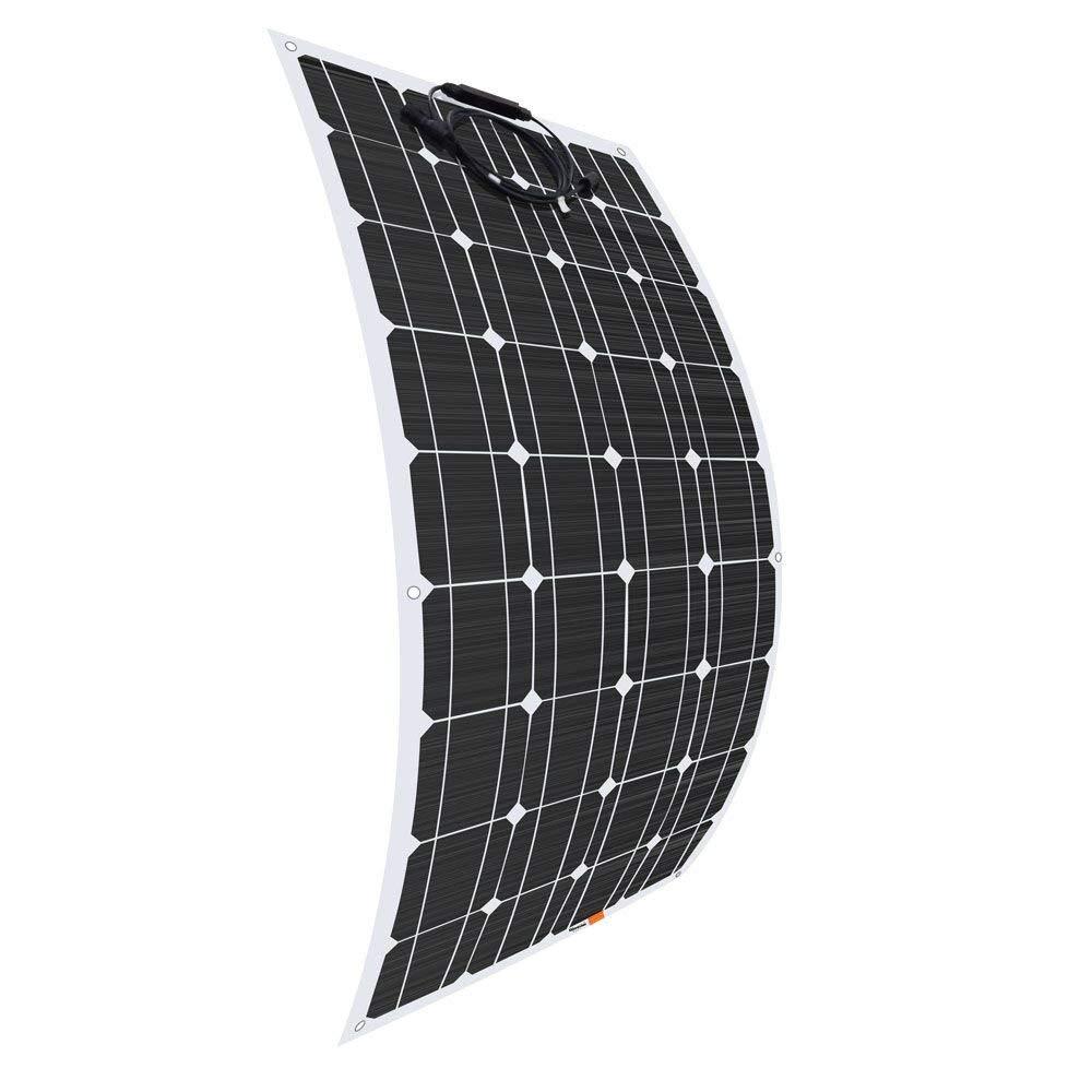 Enjoysolar Monocrystalline 20/W 12/V Solar Panel Solar Panel Mono 20/W Ideal for Bedding Campervan Caravan.
