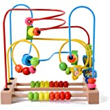 Lewo Animal Circle Bead Maze Roller Coaster Kids Educational Toys for Boys and Girls