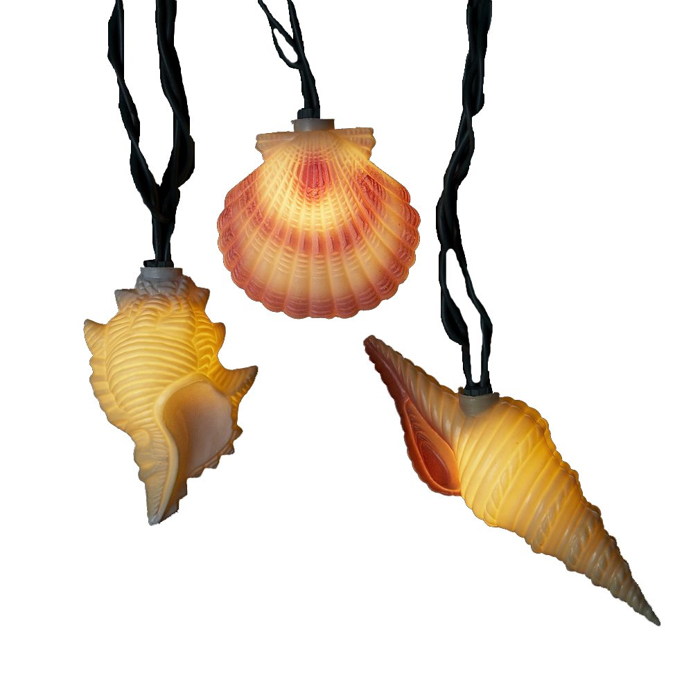 Kurt Adler Seashell Mini Light Set