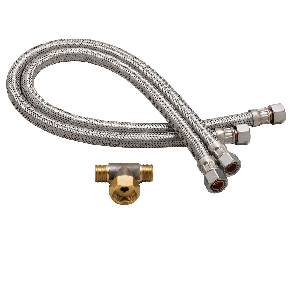 Speakman A-HOSES Commander Set of Faucet Flex Hoses, Chrome