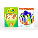 Crayola Pumpkin Paint SetAcrylic Paints in Autumn Colors, Halloween Decorations, 6Count