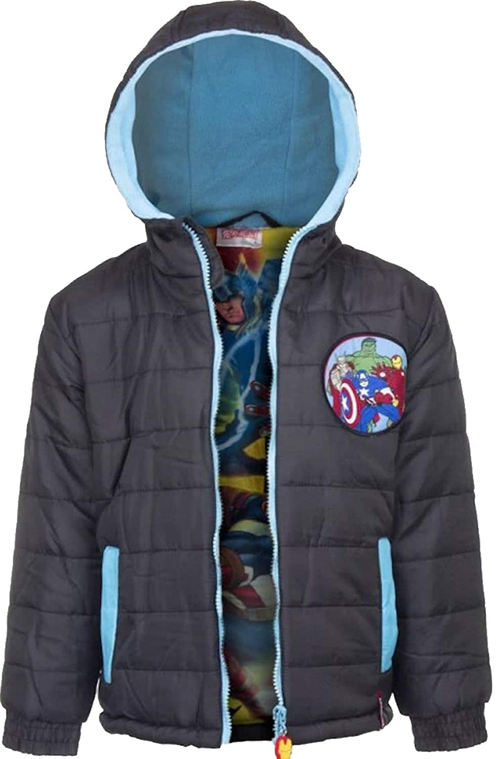 Marvel Avengers Kids Padded Winter Jacket