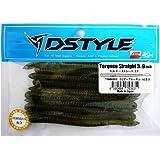 DSTYLE(ディスタイル) ワーム トルキーストレート 3.8インチ クリアーブルーギル.