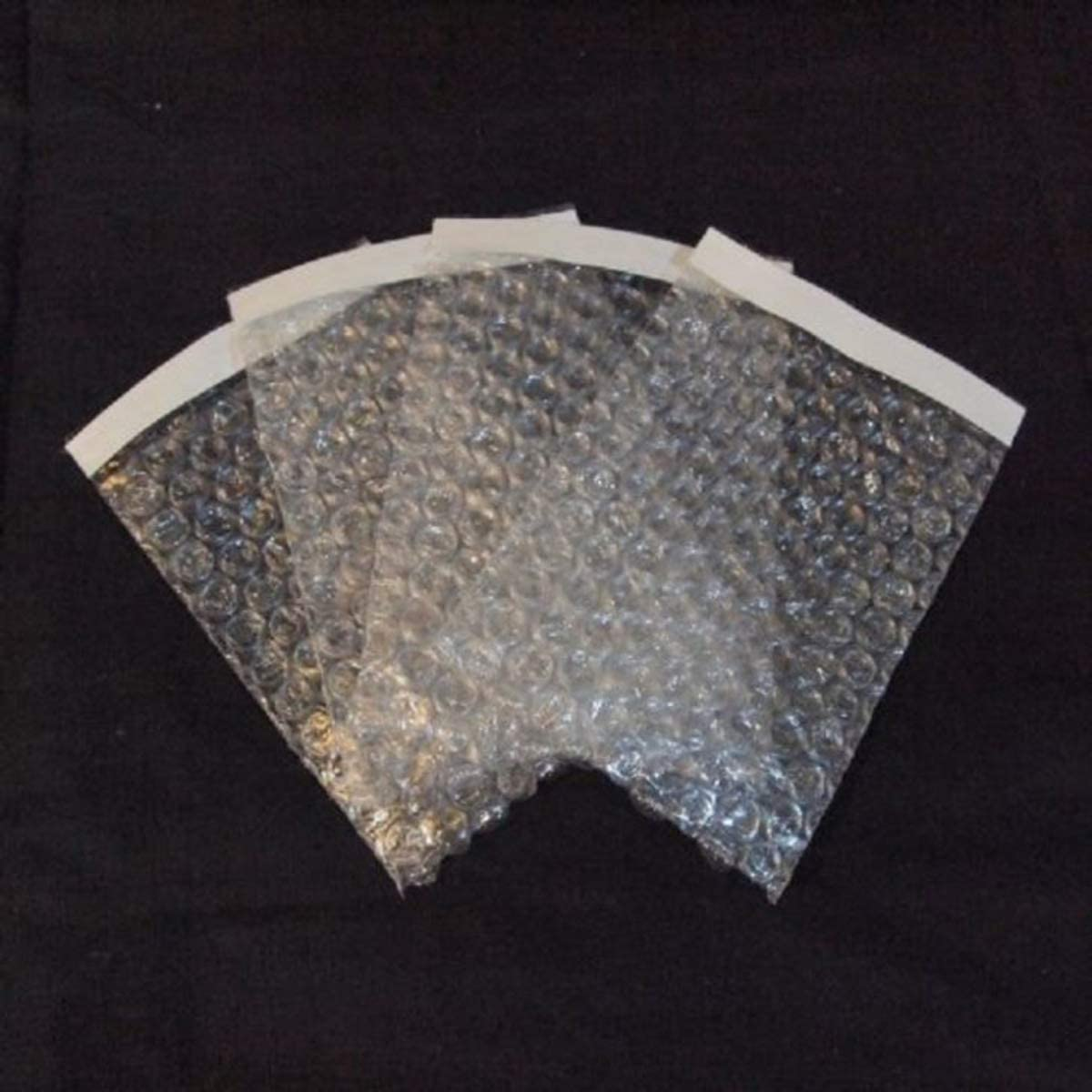 """50Pcs Clear Bubble Cushioning Wrap Self-Seal Bubble Pouch Bags for Shipping,Storage and Moving,12x16"""""""
