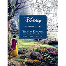 Disney Dreams Collection Thomas Kinkade Studios Coloring Book