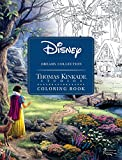 Book cover from Disney Dreams Collection Thomas Kinkade Studios Coloring Book by Thomas Kinkade