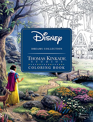 Disney Dreams Collection Thomas Kinkade Studios Coloring Book]()