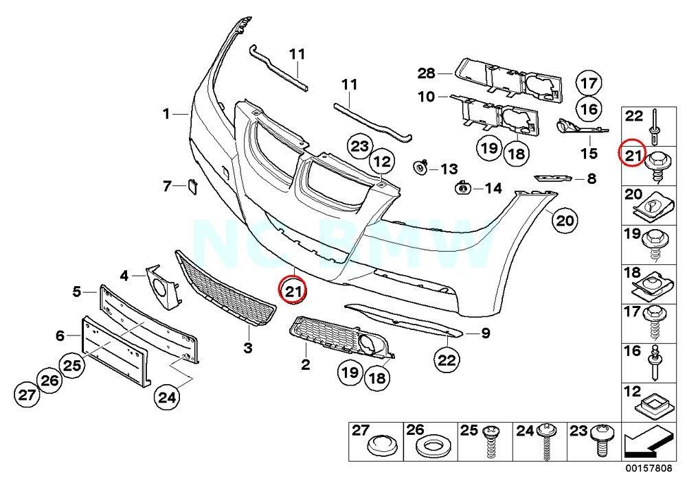 BMW Genuine Sheet Metal Screw by BMW (Image #1)