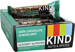 product image for KIND Nuts and Spices Bar, Dark Chocolate Almond Mint, 1.4 Oz Bar, 12-Box