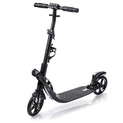 Patinete ruedas grandes 200 mm El kick Scooter Plegable para niños y adultos muy duradero hasta