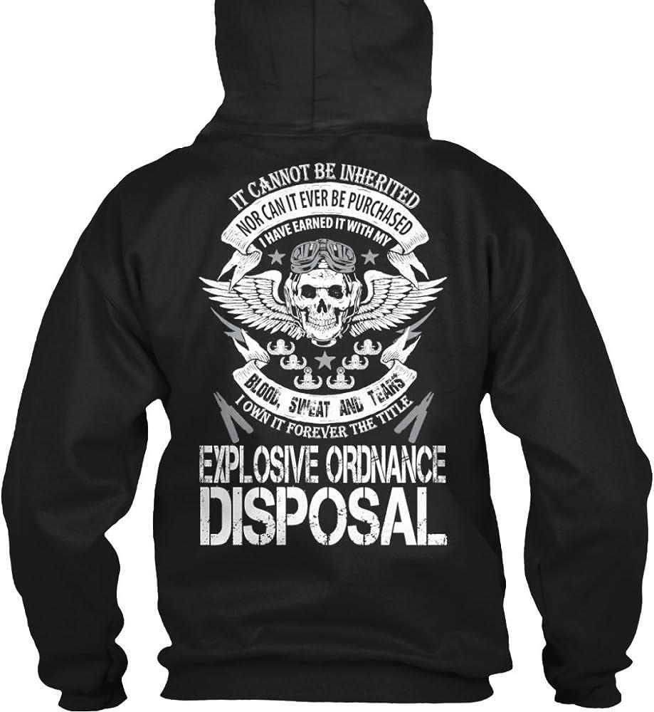 JINGUImao EOD Explosive Ordnance Disposal Badge Unisex Warm Hat Knit Hat Skull Cap Beanies Cap