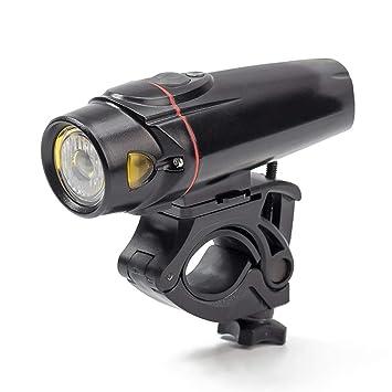 Sunnyflowk Bike Light USB Bike Light Faro de Bicicleta Luz súper ...