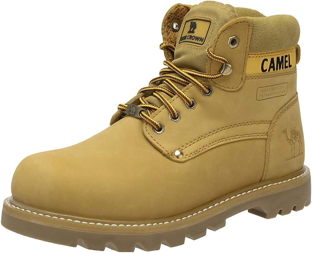 Botas Hombre, CAMEL CROWN Botas Seguridad Hombres Zapatos Nieve de Invierno Hombre Calzado Impermeables