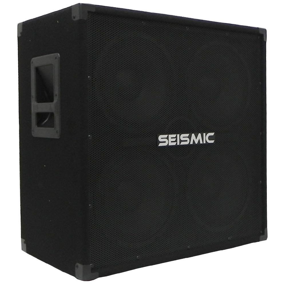 Seismic Audio - 410 Bass Guitar Speaker Cabinet PA DJ 800 Watts 4x10 4 10