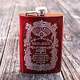 (US) 8oz CUSTOMIZED Polyjuice Potion Flask