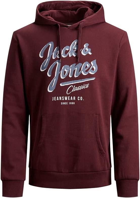 Jack /& Jones Uomo Felpa con cappuccio jjepanther SWEAT HOOD reg fit