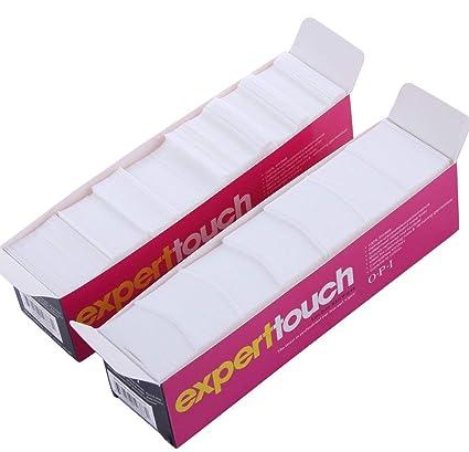 620pcs toallitas uñas arte acrílico Gel Tips Remover Nail Art Soak Off Clip Cap Polish Remover