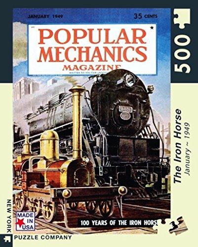 New York Puzzle Company - Popular Mechanics Iron Horse - 500 Piece Jigsaw ()