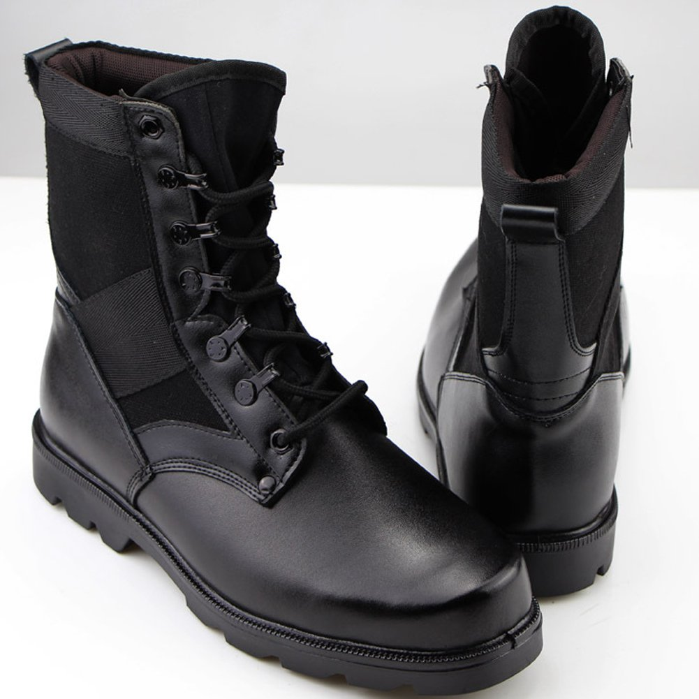 Amazon.com: Aiyuda Men's Military Combat Work Boots Steel Toes ...