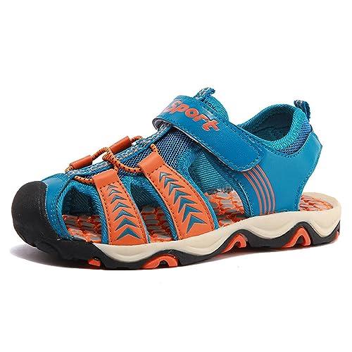 KVbaby Sandalias Punta Cerrada para Niños Suave Zapatillas de Deporte Al Aire Libre Zapatos de Playa: Amazon.es: Zapatos y complementos