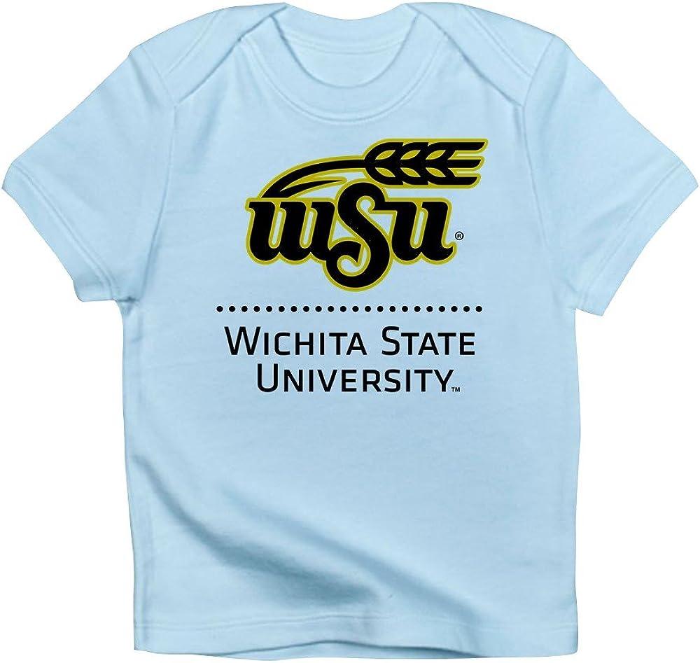 CafePress WSU Wichita State University Infant T Shirt Cute Infant T-Shirt, 100% Cotton Baby Shirt Sky Blue
