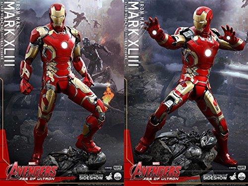 Hot Toys QS005 Avengers Age of Ultron Iron Man Mark XLIII 43 1/4 Scale Figure ()